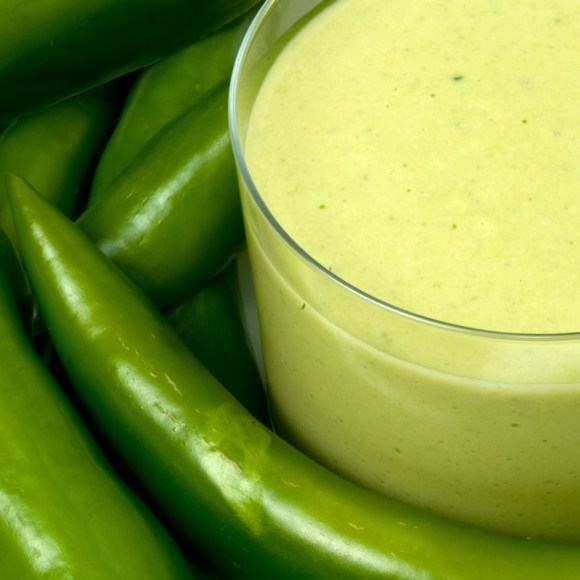 Green Chile Crema Lead Green Chile Crema