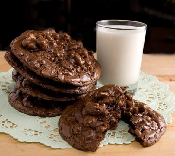 Lead1 Bittersweet Chocolate & Toasted Walnut Cookies Perfecta Mundo!