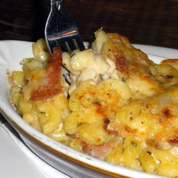 Mac and cheese  Eat. Seattle. Smith.
