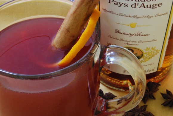 Muled Cider New  Mulled Apple Cider with Warm Winter Spices, Cayenne & Hibiscus