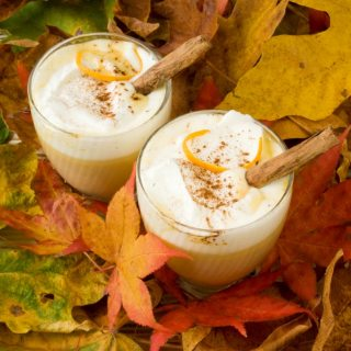 Pumpkin Spice Hot White Chocolate