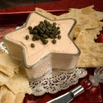 Smoked Salmon & Caper Spread with Artisan Crackers