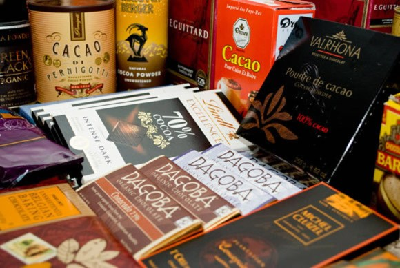 Variety of Excellent Cocoa Powders and Bar Chocolates
