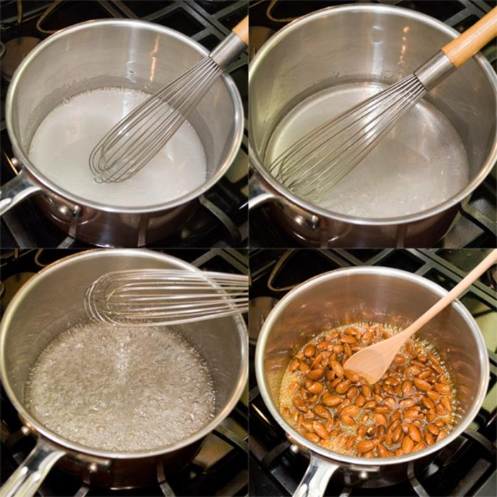 Four Step Caramel Process