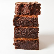 LunaCafe OtherWorldly Silky Brownies Stacked