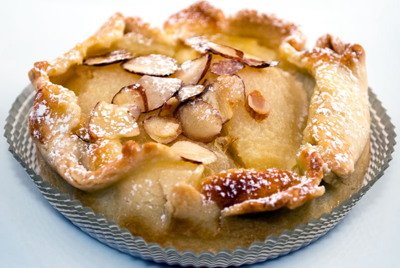 The Tart Lady's Pear Frangipane Tart