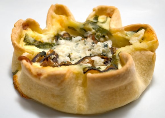 The Tart Lady's Wild Mushroom Gorgonzola Tart