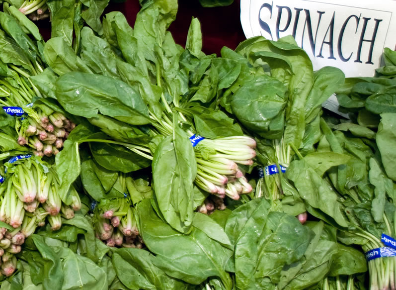 Tender Spring Spinach