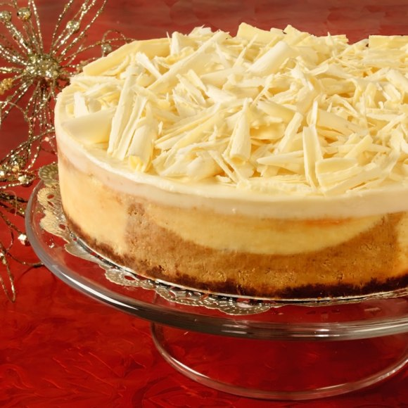 Cheese cake 4 Pumpkin Spice & White Chocolate Cheesecake