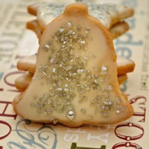 Chinese Five Spice Butter Cookie Christmas Cookies: Silver Bells