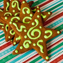 Ginger Spice Stars