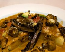Wild Mushroom Polenta at Cowboy Ciao in Scottsdale