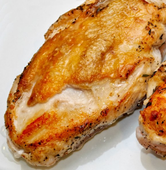 Sauted chicken Breast of Chicken with Fiery, Fruity Guajillo Sauce