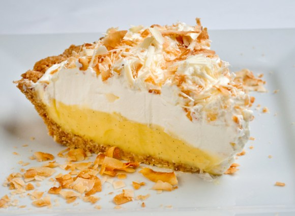 New Slice Rosalyn's Toasted Coconut White Chocolate Dream Pie