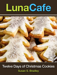 Book Cover LunaCafe Twelve Days of Christmas Cookies