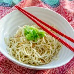Golden Fried Garlic Noodles