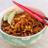 Ants Climbing a Tree (Spicy Pork & Orange Cellophane Noodles)