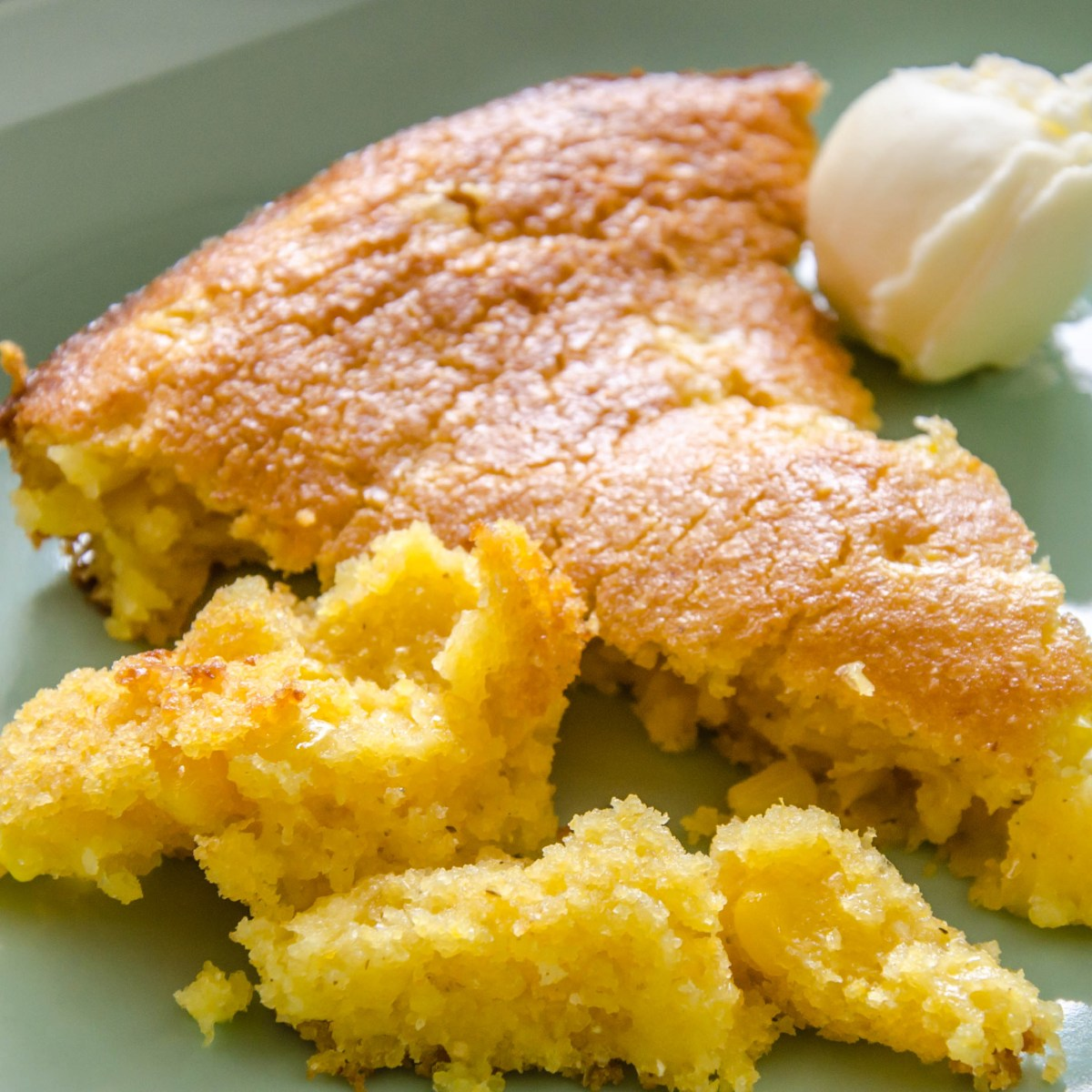 Not Your Sweet Mama's Skillet Cornbread