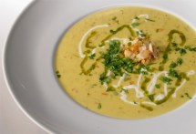 Curried Sweetpotato, Ginger & Coconut Bisque