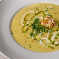 Curried Sweetpotato, Ginger, & Coconut Bisque