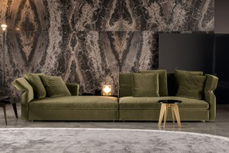 Luxury Italian furnitures - Minotti Collar Sofa