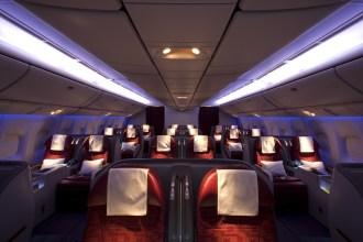 Qatar Airways Business Class - Cabin
