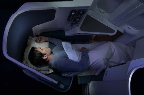 A night in Cathay Pacific Business Class