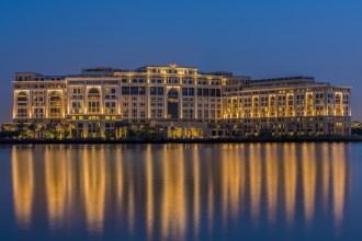 Palazzo Versace Dubai by night