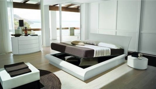 Modern Stylish Double Bed Update 09 By Rossetto Armobil