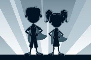 Of Heroines and Heroes: Three Stories