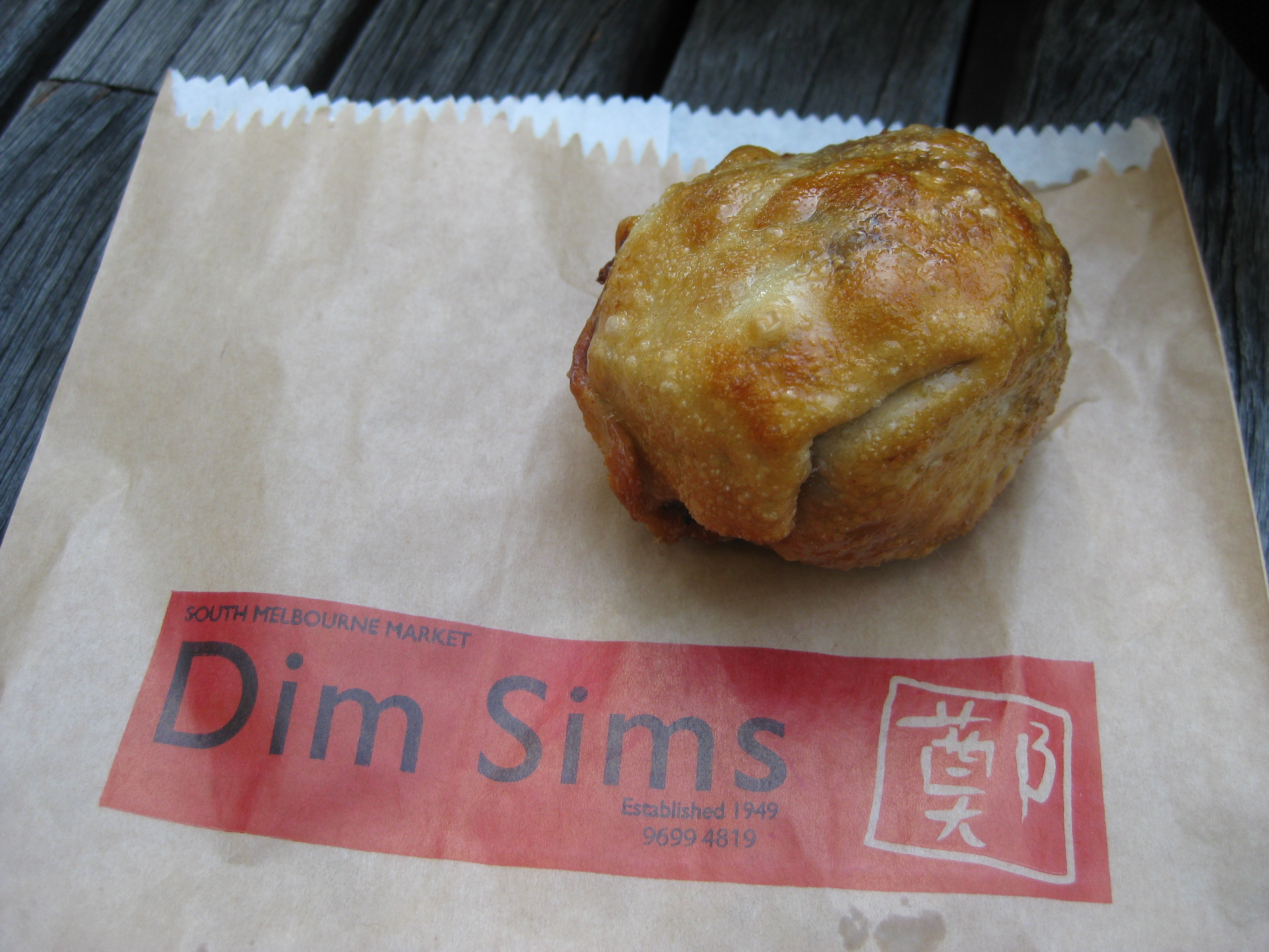 Cuisines To Try In Melbourne The Dimmy Dim Sim A Chinese Or Australian Culinary Item