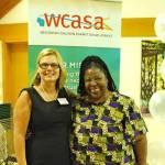 Pennie-Meyers-executive-director-WCASA-Loretta-Ross-keynote-speaker-human-rights-activist-WCASA-Celebration-Peace-Prevention-Healing-headline