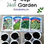 Planting A K Cup Garden!