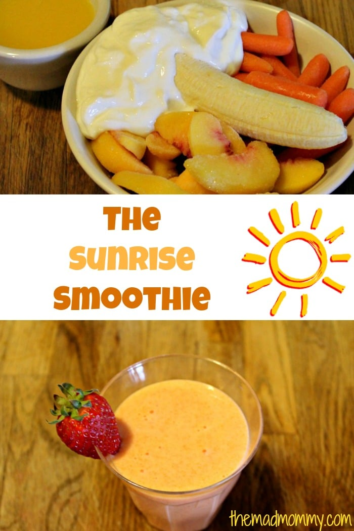 fruit and vegetable smoothie themadmommy.com
