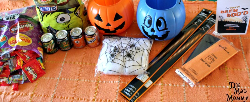 The supplies that I used to make my #BOOItForward Boo Kits! #ad #CollectiveBias