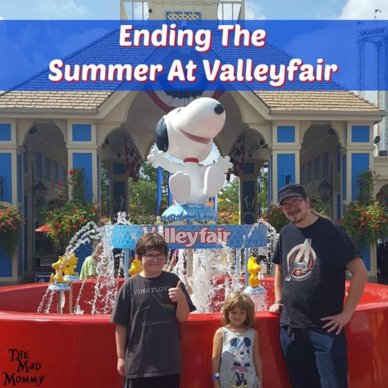 Ending The Summer With A Trip To Valleyfair!