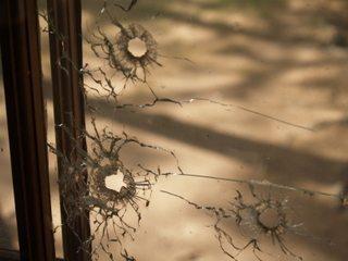 Bullet Holes at Little Bohemia