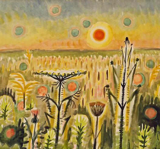Sunspots, Charles Burchfield