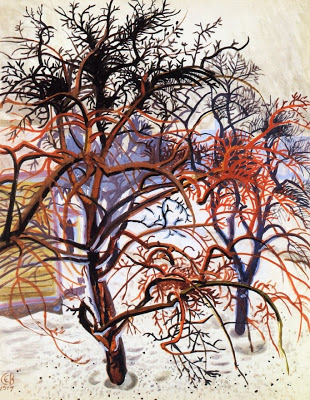 Trees, Charles Burchfield, 1917