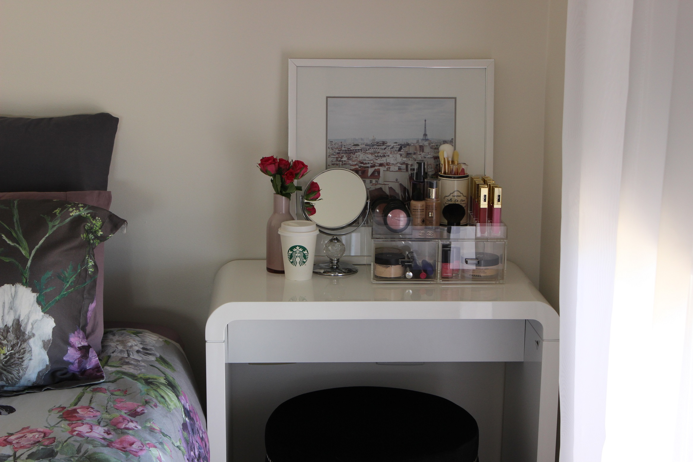 Diy Vanity Area Makeup Vanity For Small Spaces The Makeup Box Shop