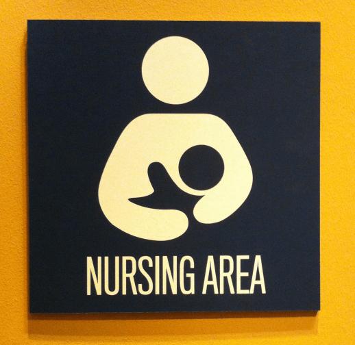 nursing area, baby friendly initiative, hospital, baby, newborn, mom