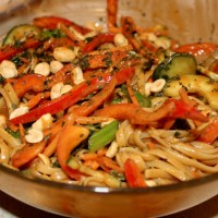 Spicy Thai Peanut Noodles- Quick, Quicker, Quickest (Better Homes & Gardens)