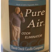 David Oreck's Pure Air Candle Review