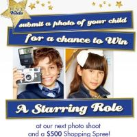 The Children's Place Model Search Sweepstakes!