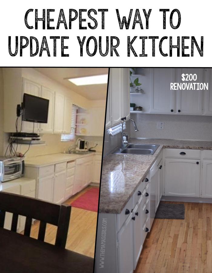 cheapest update kitchen rental friendly kitchen update wallpaper cabinets