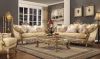 HD 2626 Homey Design upholstery living room set Victorian ...