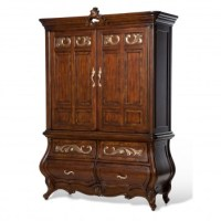 AiCO 09000 Platine de Royale Lt espresso Bedroom set