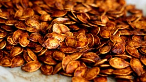 Pumpkin Spiced Pumpkin Seeds