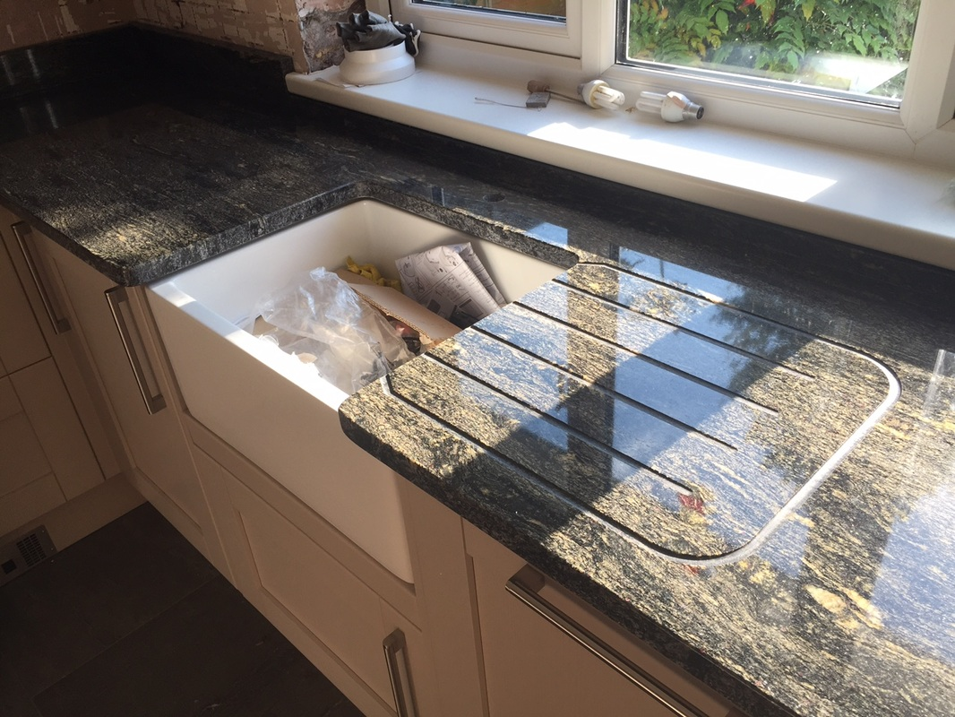 Black Titanium Granite Countertops Titanium Granite Worktops By The Marble Warehouse The