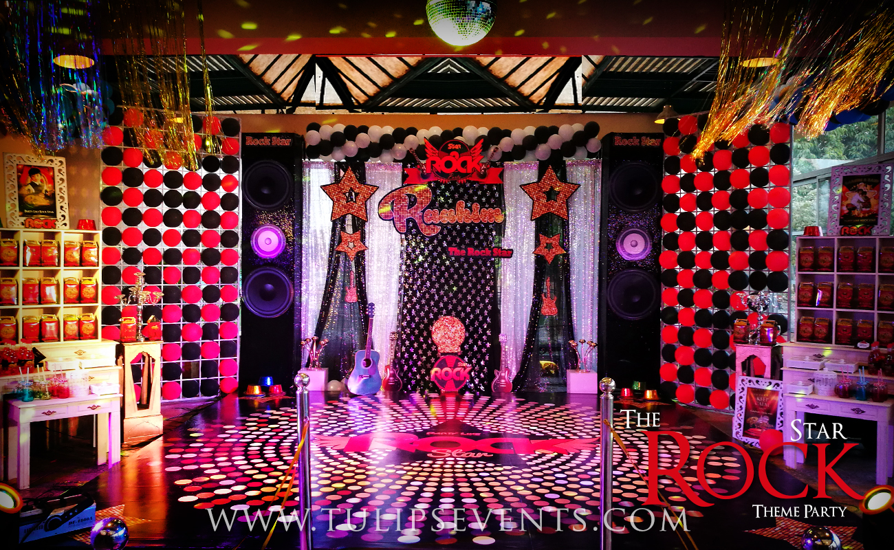 Rock And Roll Themed Room Rock Star Theme Party Decoration Ideas In Pakistan